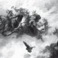 Скандинавская мифология - скандинавские боги Один, Локи, Тюр, Тор, Видар и Хед