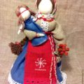 """Кукла-оберег """"Желанница"""" – заказать на Ярмарке Мастеров – 6GQR7RU   Народная кукла, Геленджик"""