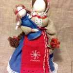 Кукла-оберег «Желанница» – заказать на Ярмарке Мастеров – 6GQR7RU   Народная кукла, Геленджик