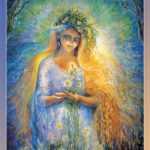 Славянская богиня жизни и лета жизни, хранительница явного мира.
