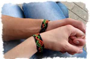 Славянские фенечки схемы и значение. Фенечки из ниток, как символ крепкой дружбы