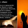 Молитва оберег: от всех бед, на все случаи жизни, для дома и семьи, сорокасильный оберег.